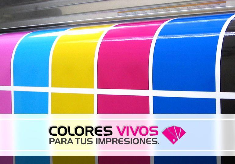 Colores vivos para tus impresiones